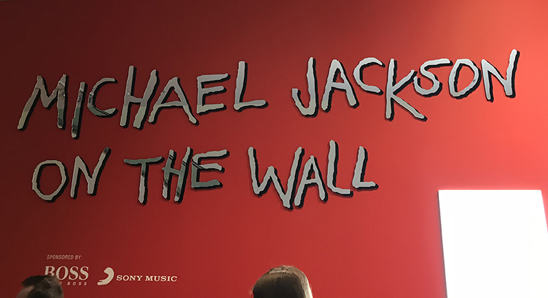 Michael Jackson On The Wall, National Portrait Gallery